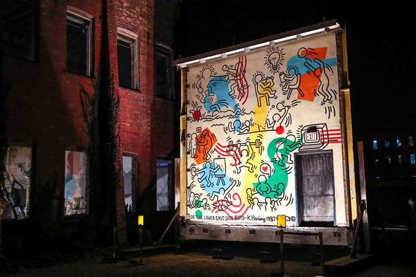 O Mural Boys Club, de Haring