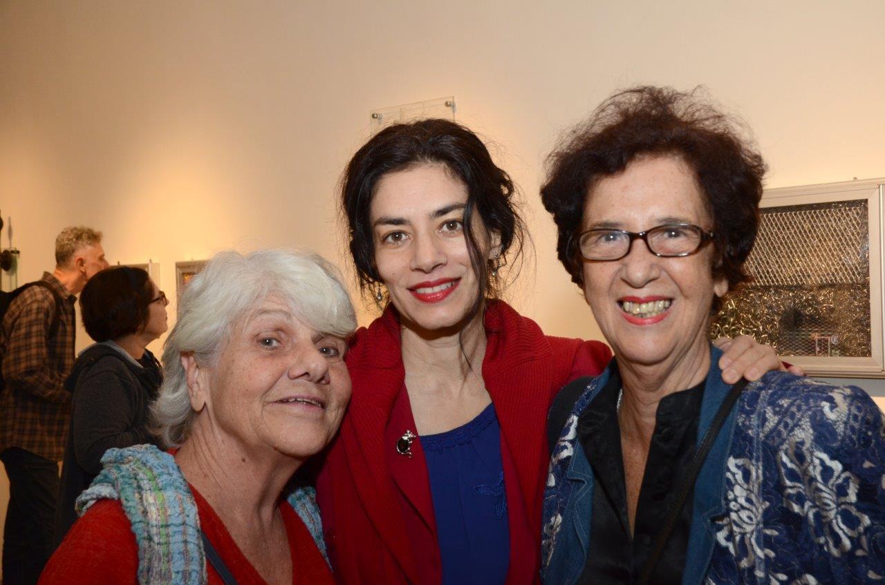 Rosa Douat, Suzana Fuentes e Eunice Gutman