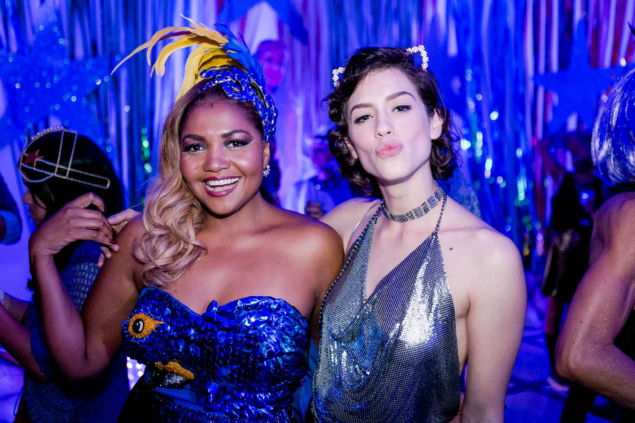 Gaby Amarantos e Sophia Abrahao