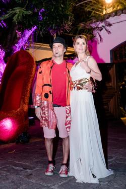 Mauro Lima e Aline Moraes