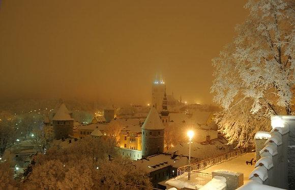 Tallinn talveudus 48 x 74 cm 015