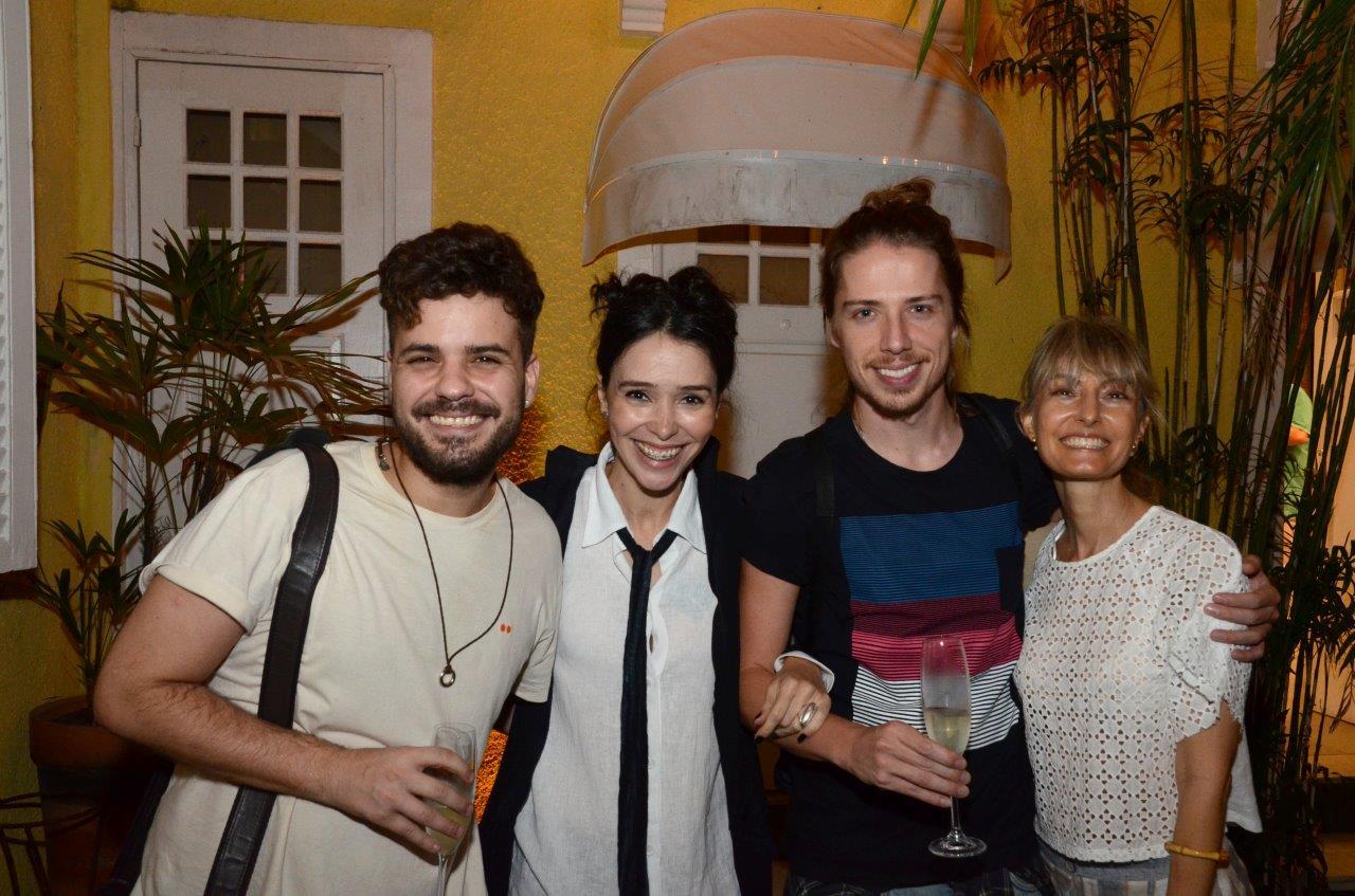 Luiz Antonio Fortes, Fernanda Elisa, Jefferson Schroeder e Patricia Marinho