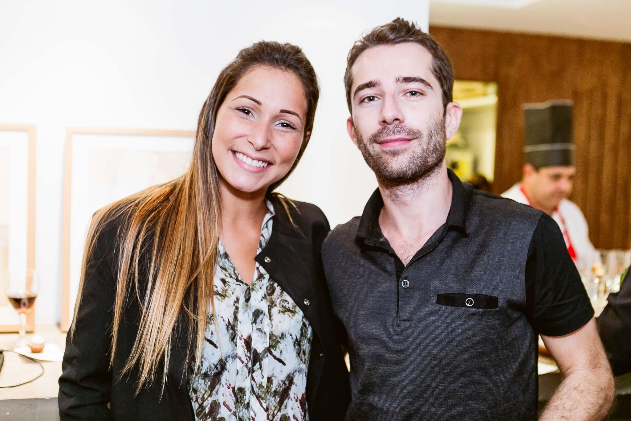 Beatriz Moraes e Simon Zelazko