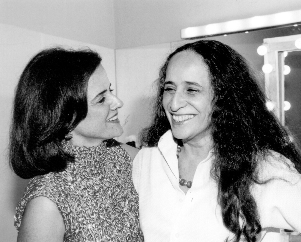 Marieta Severo e Maria Bethânia