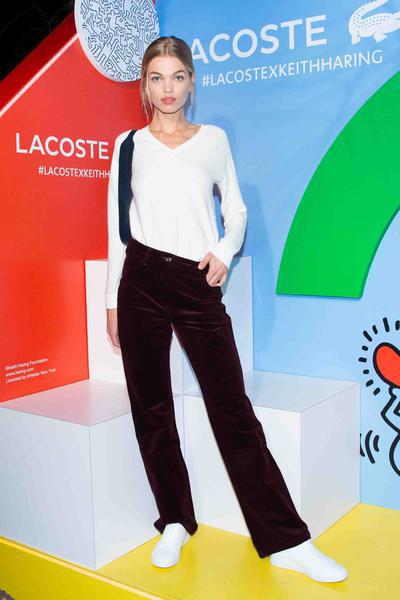 A modelo holandesa Daphne Groene
