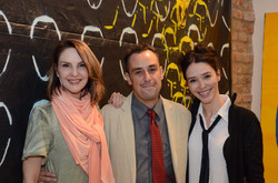 Toia Lemann, Carlos Contente e Fernanda Elisa