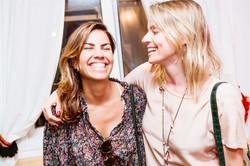 Raquel Catauli e Carol Averbach
