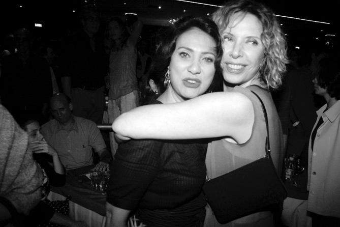 Eliane Giardini e Marilia Gabriela