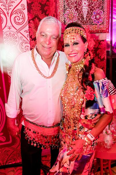 Afonso Pinto Guimarães e Beth