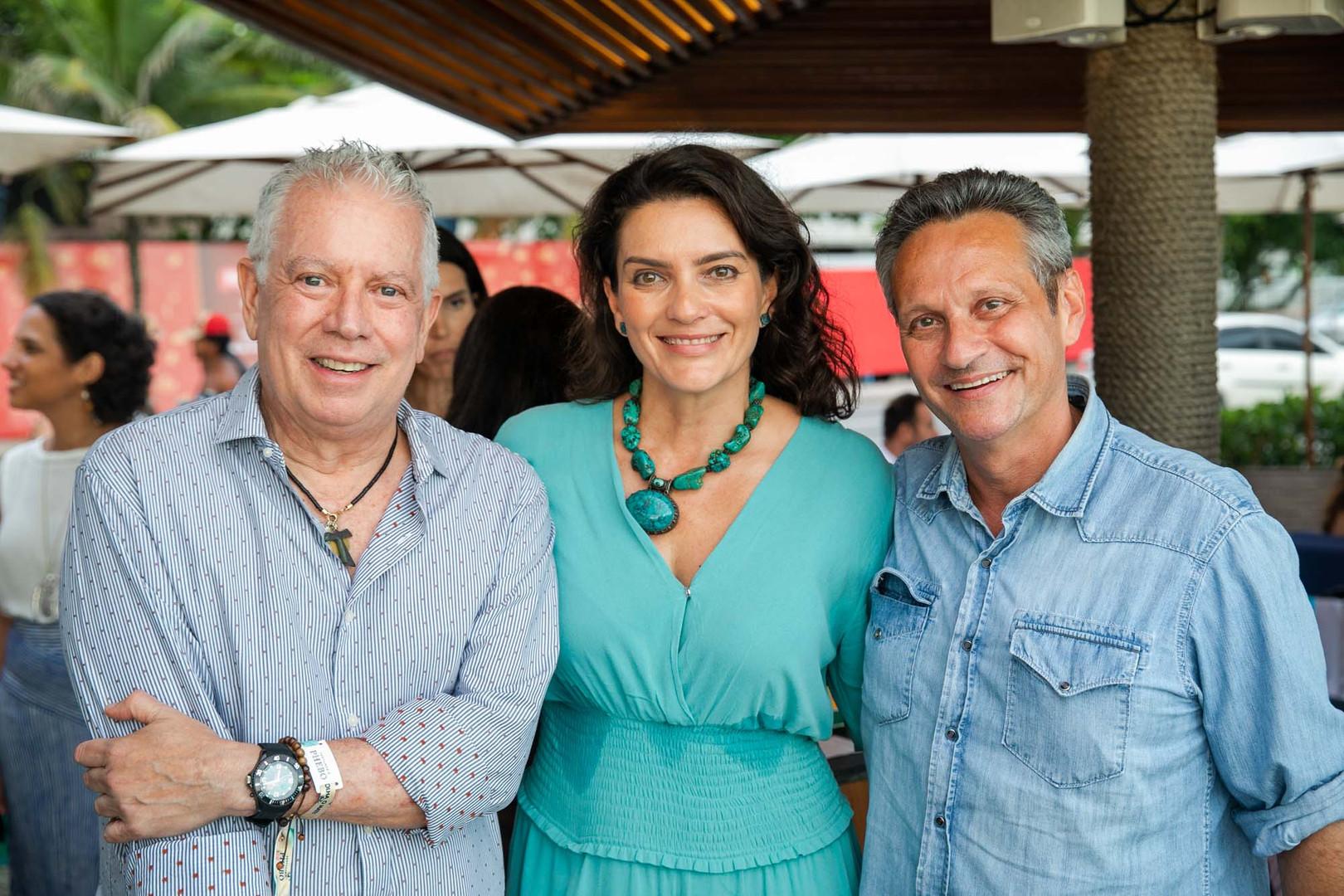 Chico Gouvea Melissa Jannuzzi e Paulo Re