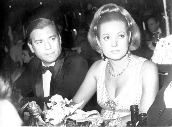 Jorge e Odaléa em meu arquivo. Anos 60