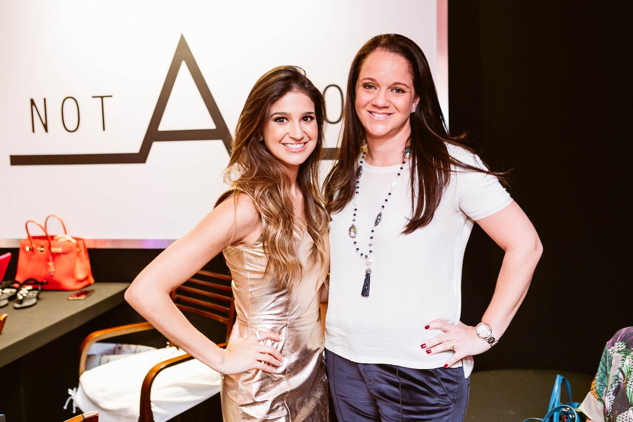 Ana Gabriela Velloso Lage e Andrea Lage