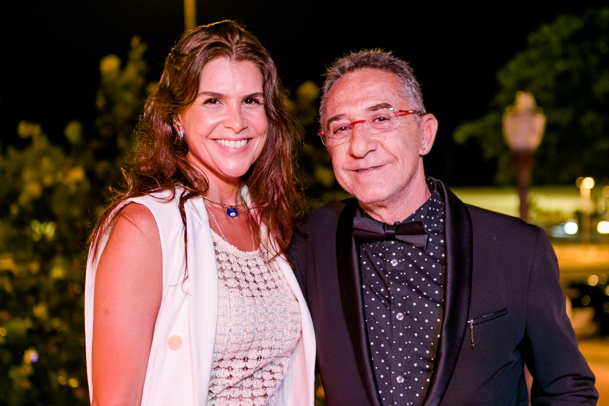 Ana Paula Padua e Cesar Hasky