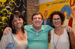 Isabela Drummond, Marcelo Valls e Rachel Sabbagh