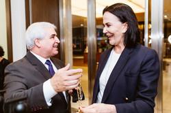 Geraldo Carrara e Liz Machado
