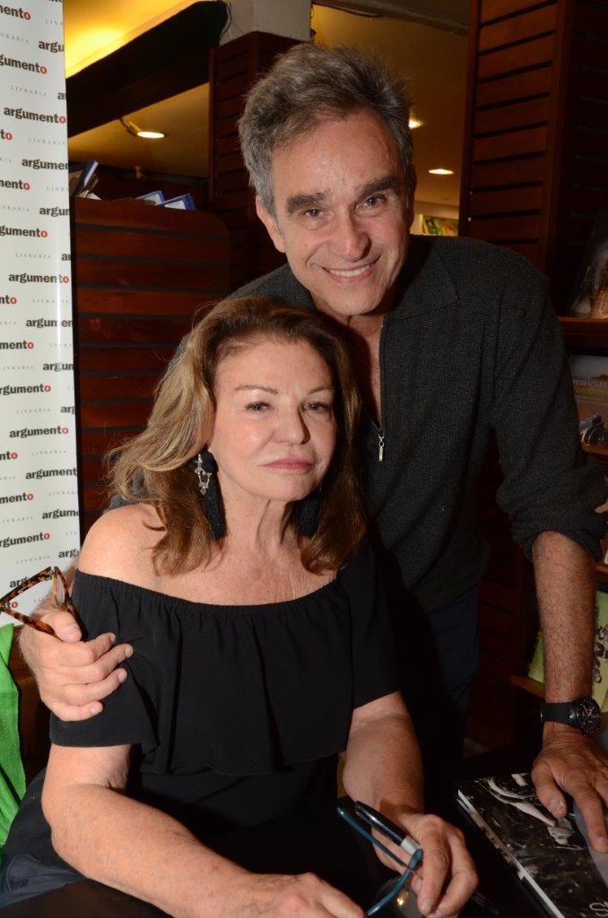 Sylvia Martins e Antonio Carlos Menezes.