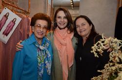 Dalal Achcar, Toia Lemann e Martucha Carneiro da Rocha