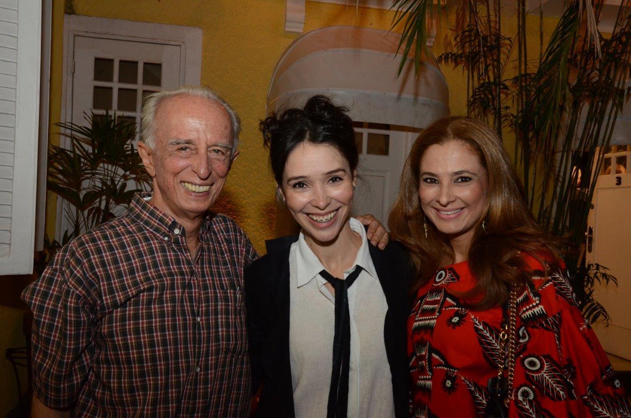 Roberto Farias, Fernanda Elisa e Cris Senna