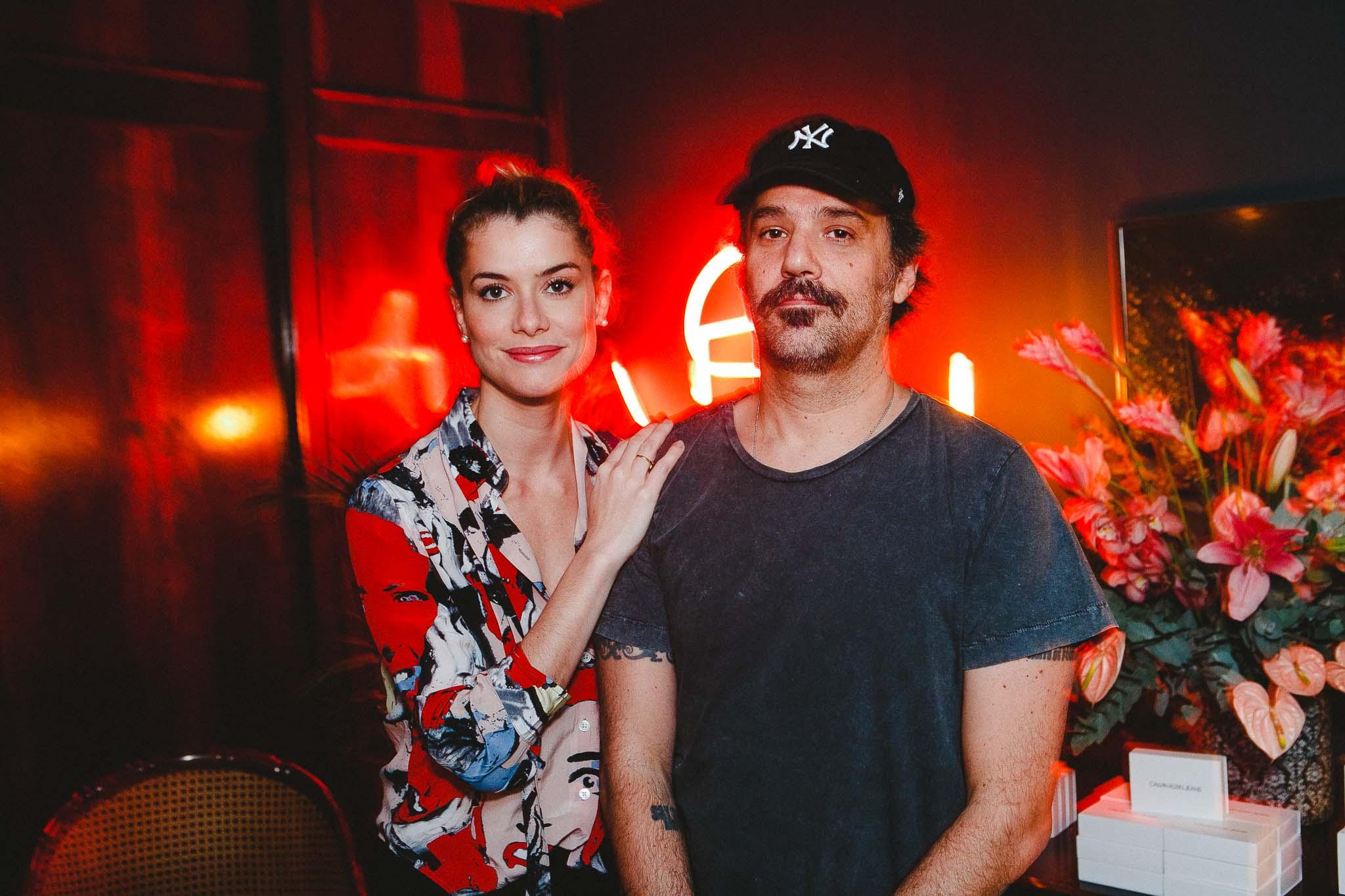 Aline Moraes e Mauro Lima