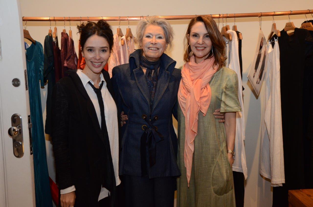 Fernanda Elisa, Gisella Amaral e Toia Lemann