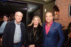 Evandro Carneiro, Christiane e Eduardo Guinle