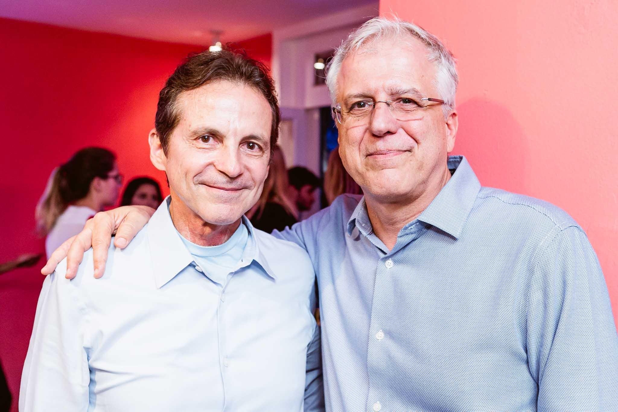 Renato Rique e Jose Lage