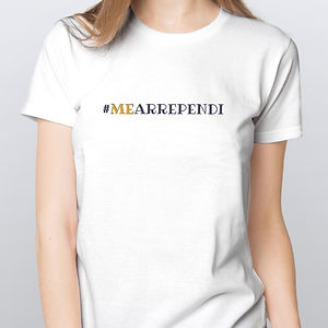 Camiseta Feminina Me Arrependi