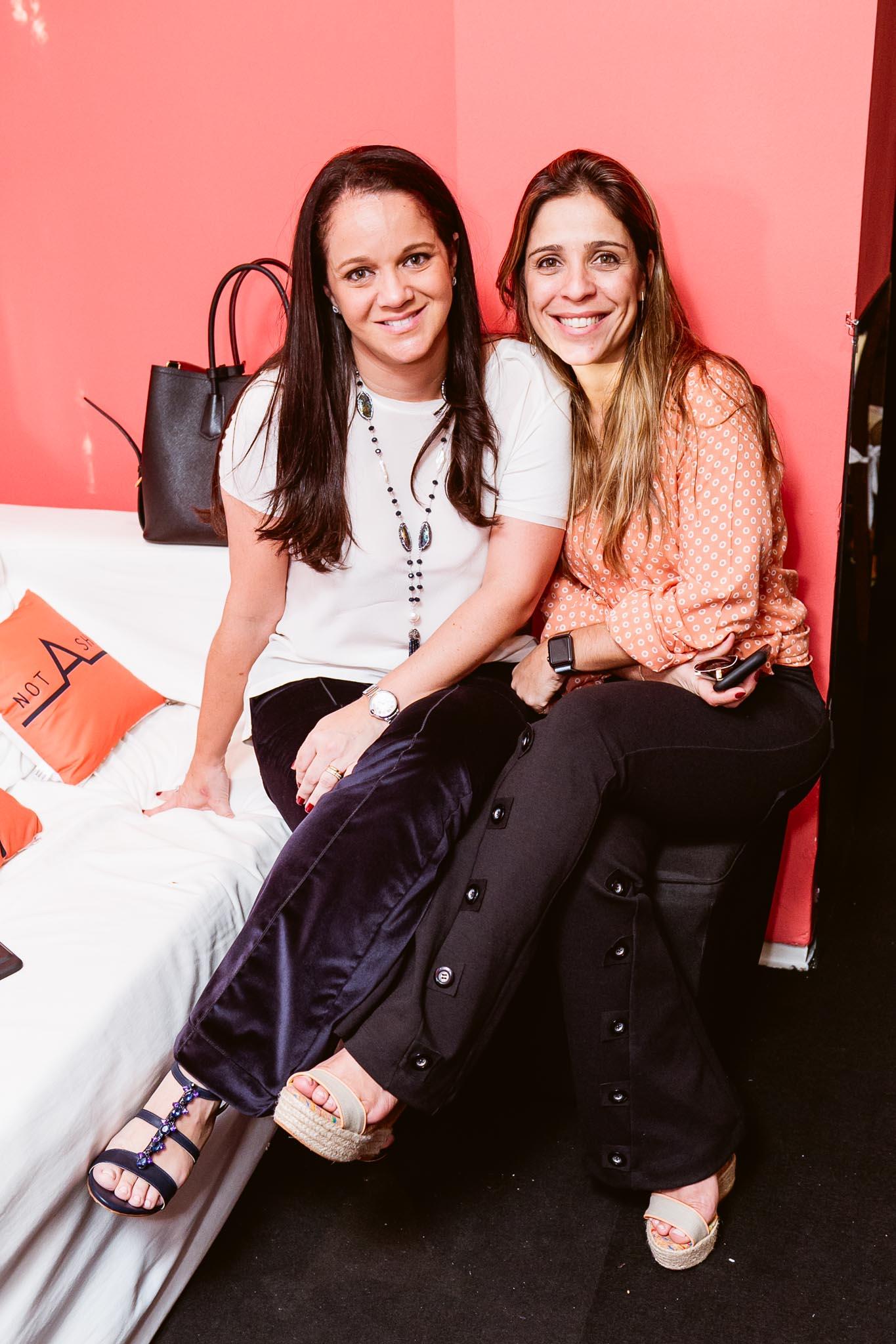 Andrea Lage e Luciana Fernandes