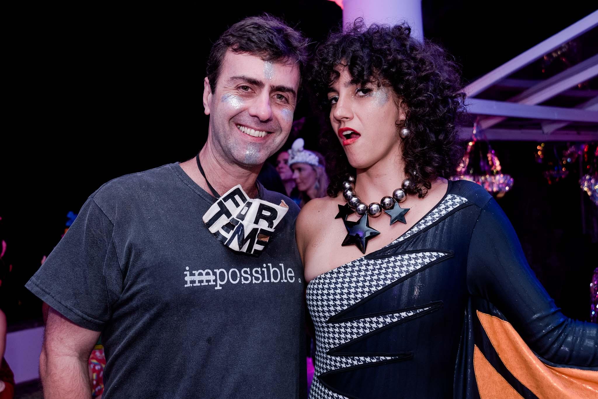 Marcelo Freixo e Antonia Pelegrino