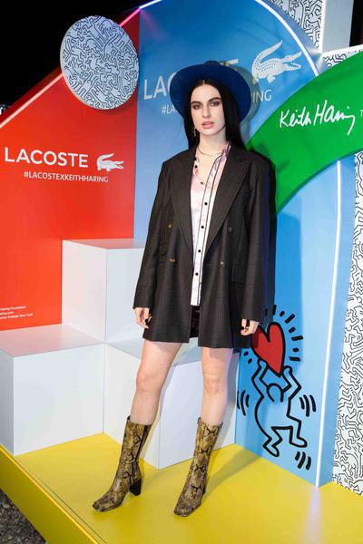 A modelo inglesa Tali Lennox