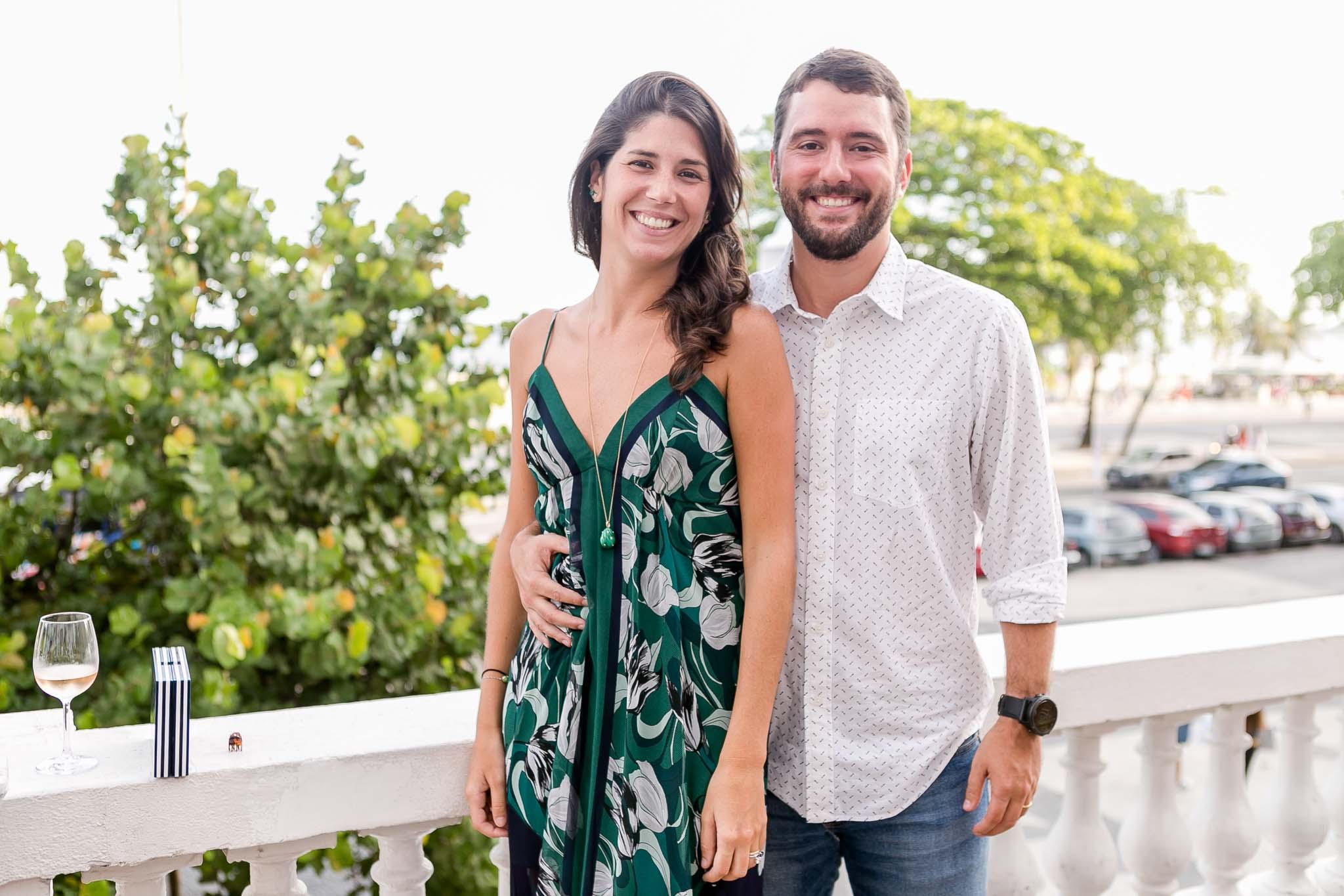 Mariella Lage Prado Kelly e Gabriel Sauer