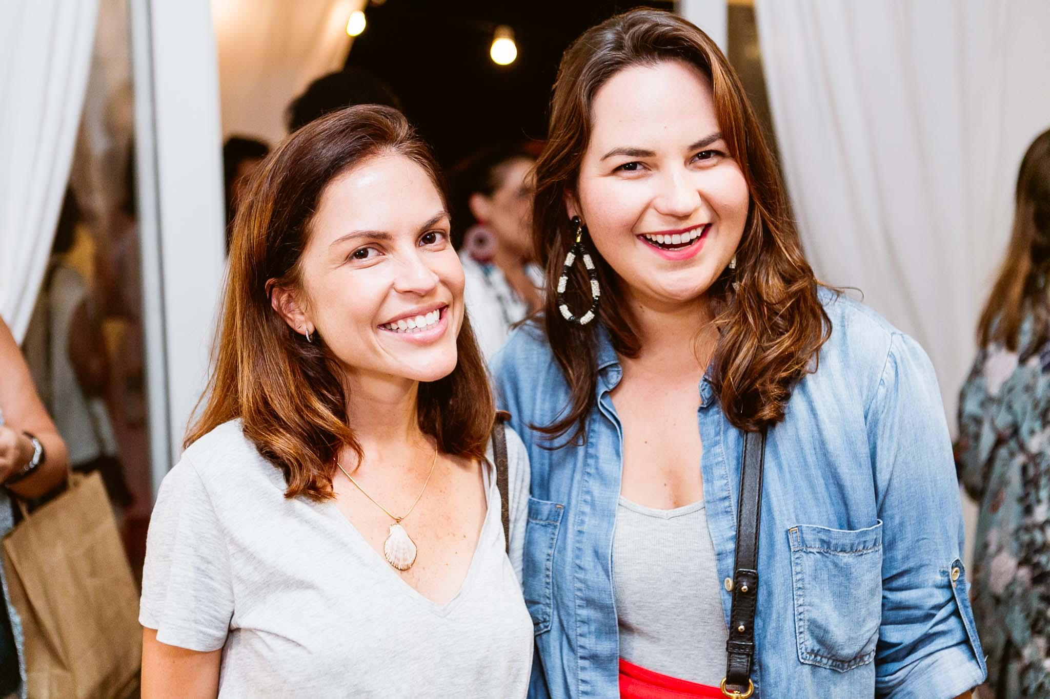 Mimi Coelho e Larissa Prairie