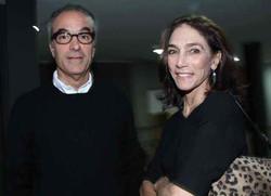 Joao Roberto Marinho e Gisela