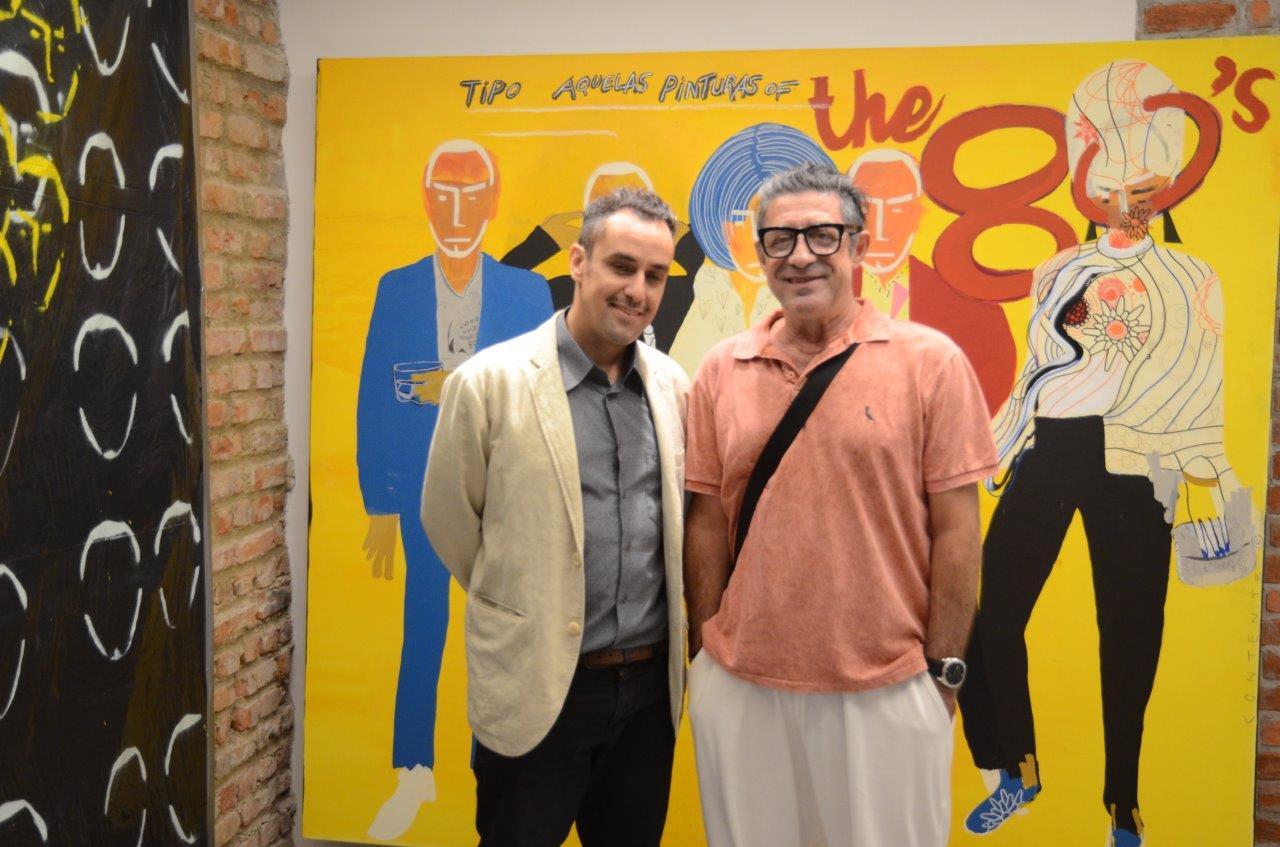 Carlos Contente e Eduardo Rolly