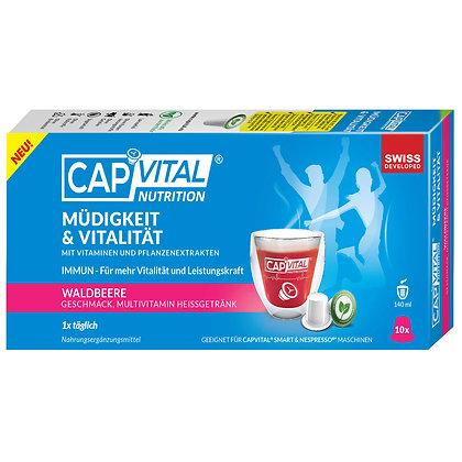 CAPVITAL® MÜDIGKEIT&VITALITÄT  Multivitamin Getränk - Nespresso kompatibel