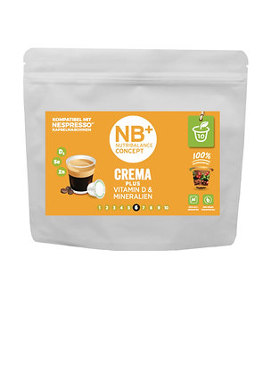 NBPLUS® Cafe CREMA + VitaminD & Mineralien