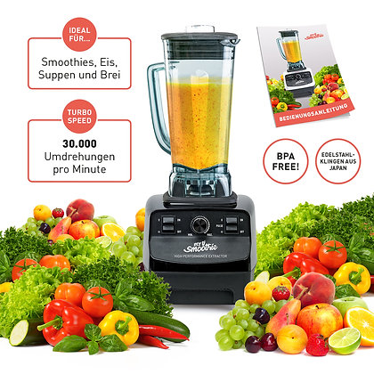 mysmoothie® Power Mixer für gesunde Smoothies