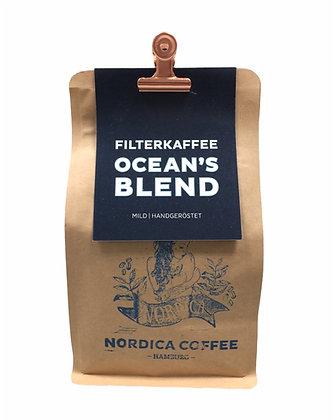 OCEAN`S  BLEND Filterkaffee 250g Bohne