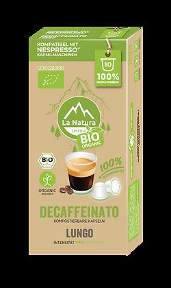 LaNatura® BIO LUNGO KOFFEINFREI Nespresso* Kapseln 10 Stück