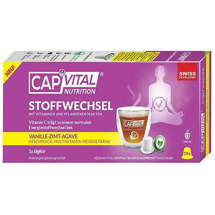 CAPVITAL® STOFFWECHSEL  MULTIVITAMIN Getränk - NESPRESSO® kompatibel