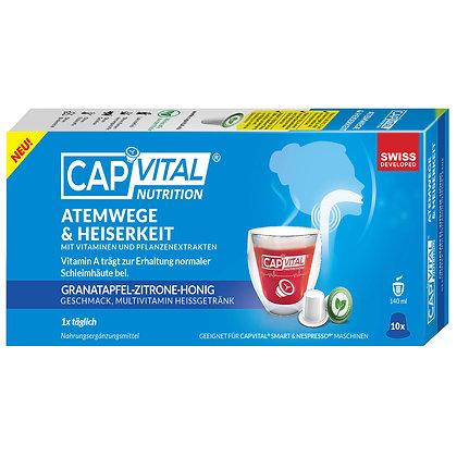 CAPVITAL® ATEMWEGE  Multivitamin Getränk - NESPRESSO® kompatibel