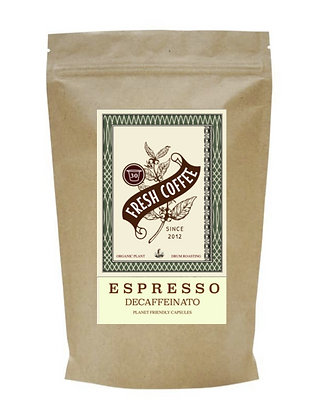 Nordica Coffee ESPRESSO Koffeinfrei 30 Kapseln für NESPRESSO®*
