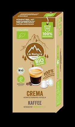 LaNatura® CREMA Nespresso* Kapseln 10 Stück