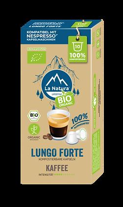 LaNatura® BIO LUNGO FORTE Nespresso* Kapseln 10 Stück