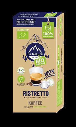 LaNatura® BIO RISTRETTO Nespresso* Kapseln 10 Stück