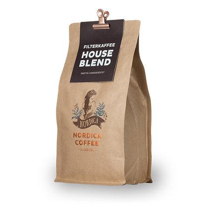 HOUSE BLEND FILTERKAFFEE 500g BOHNE