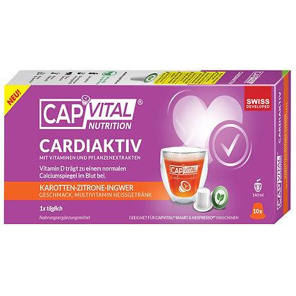 CAPVITAL® CARDIAKTIV  Multivitamin Getränk - NESPRESSO® kompatibel