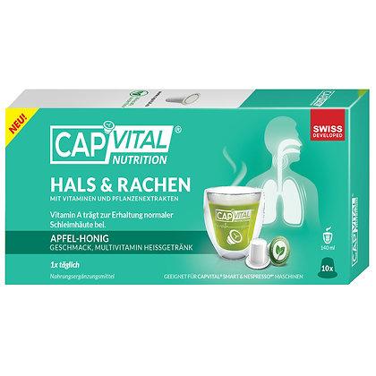 CAPVITAL® HALS & RACHEN  Multivitamin Getränk - NESPRESSO® kompatibel