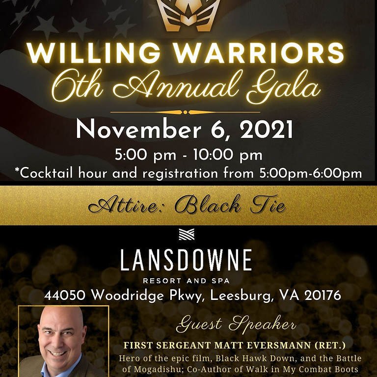 Willing Warrior Annual Gala