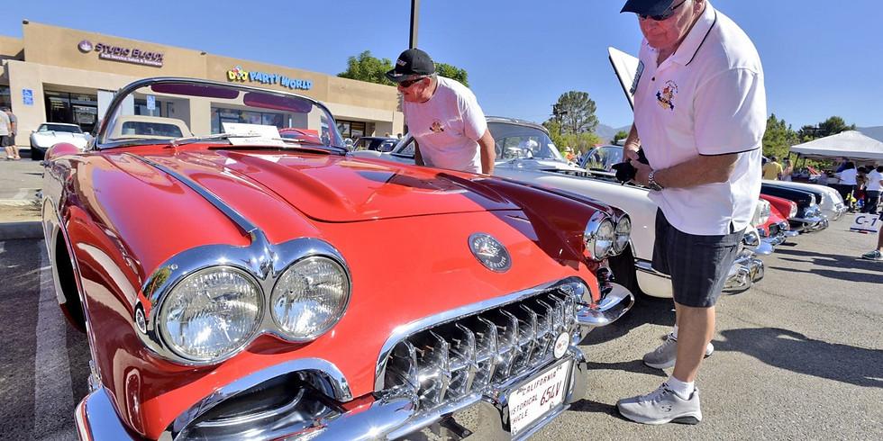 Vettes for Vets Corvette Show